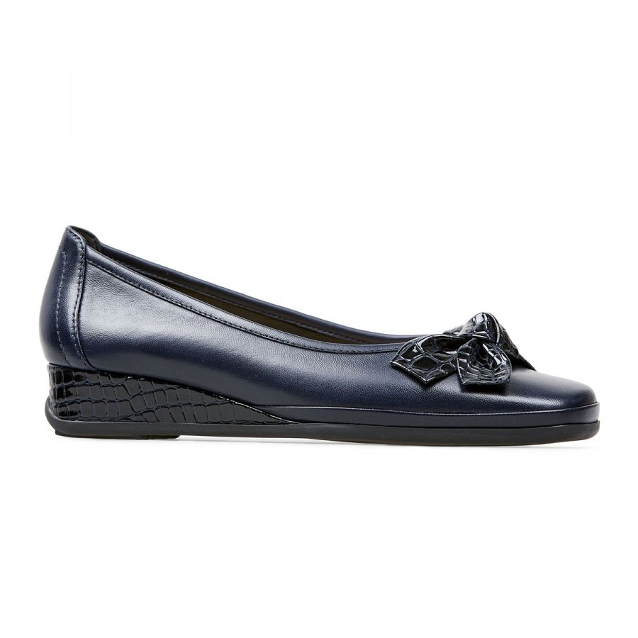 Barbados II - Midnight Leather / Croc