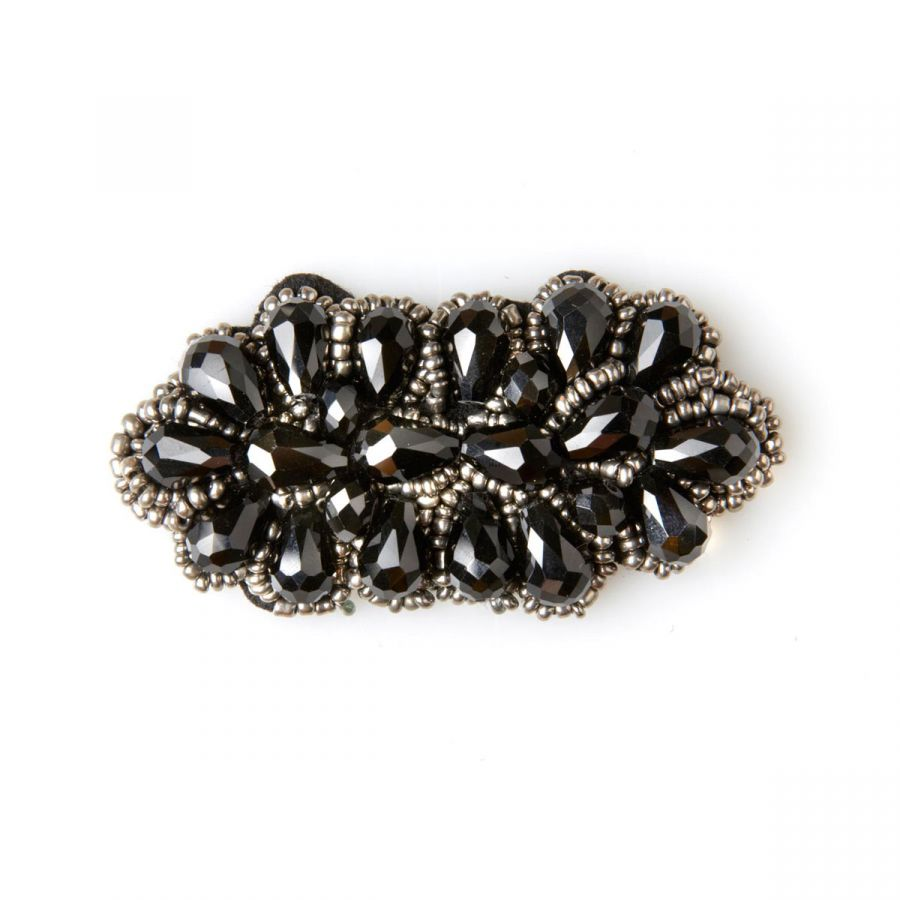 Carlotta - Black Beads