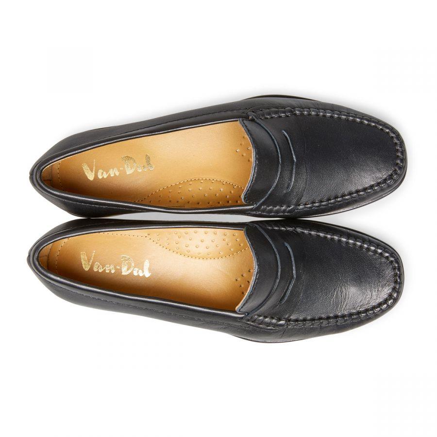 Hampden - Black Leather