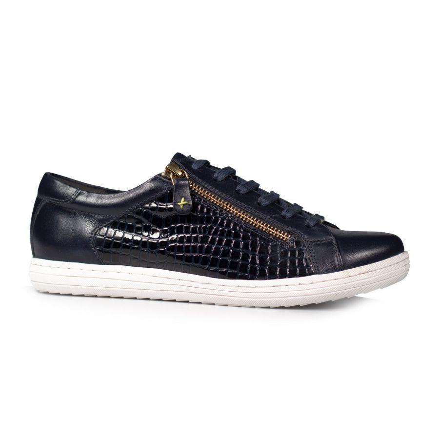 Detroit - Midnight Leather / Croc