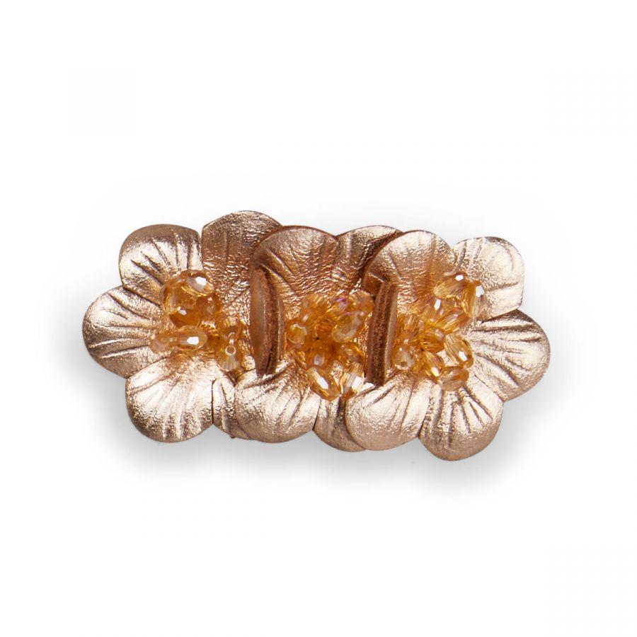 Flora - Rose Gold / Gold Beads