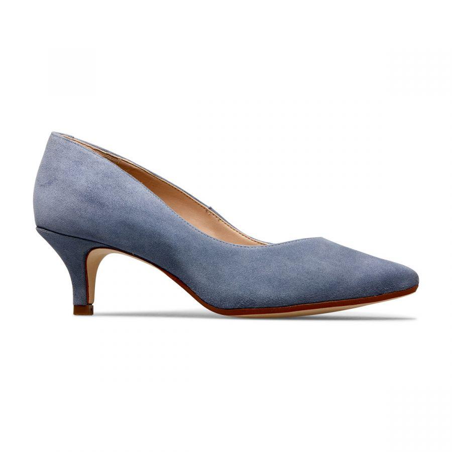 Nina - Antique Blue Suede