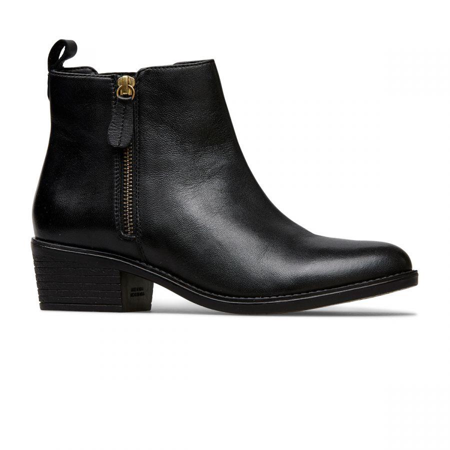 Barlow II - Black Leather