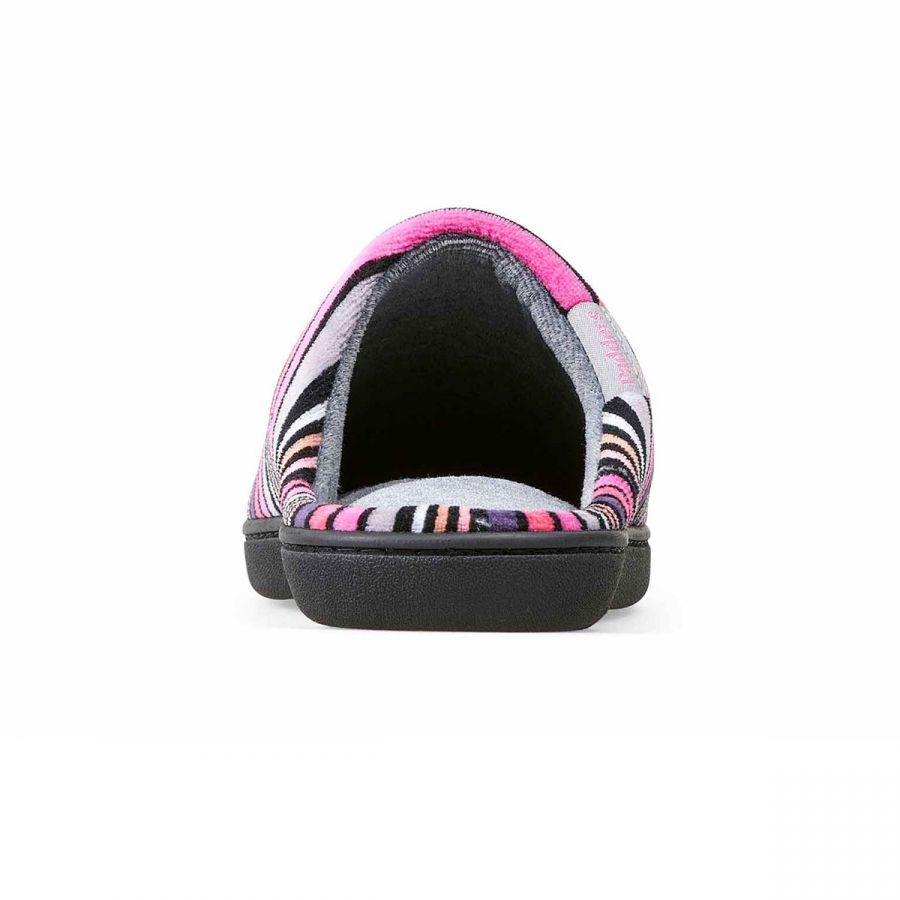 Padders Aimee Slippers - Pink Stripe