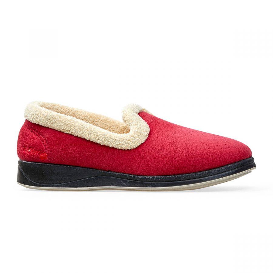 Padders Repose Slippers - Red