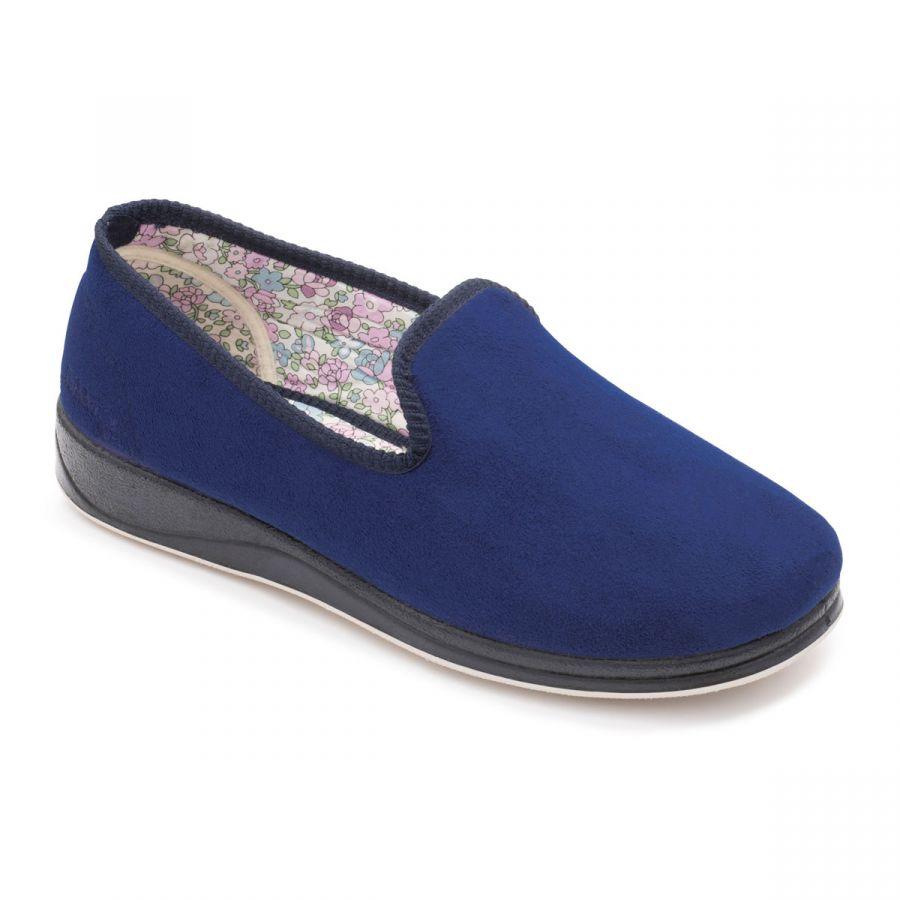 Padders Repose Slippers - Royal Blue