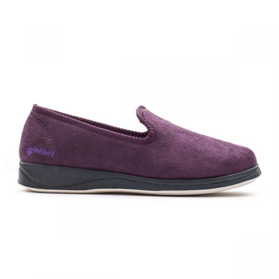 Padders Repose Slippers - Purple