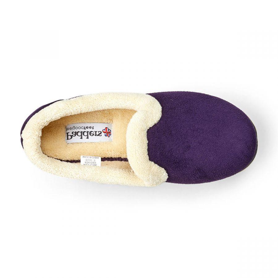 Padders Repose Slippers - Lilac