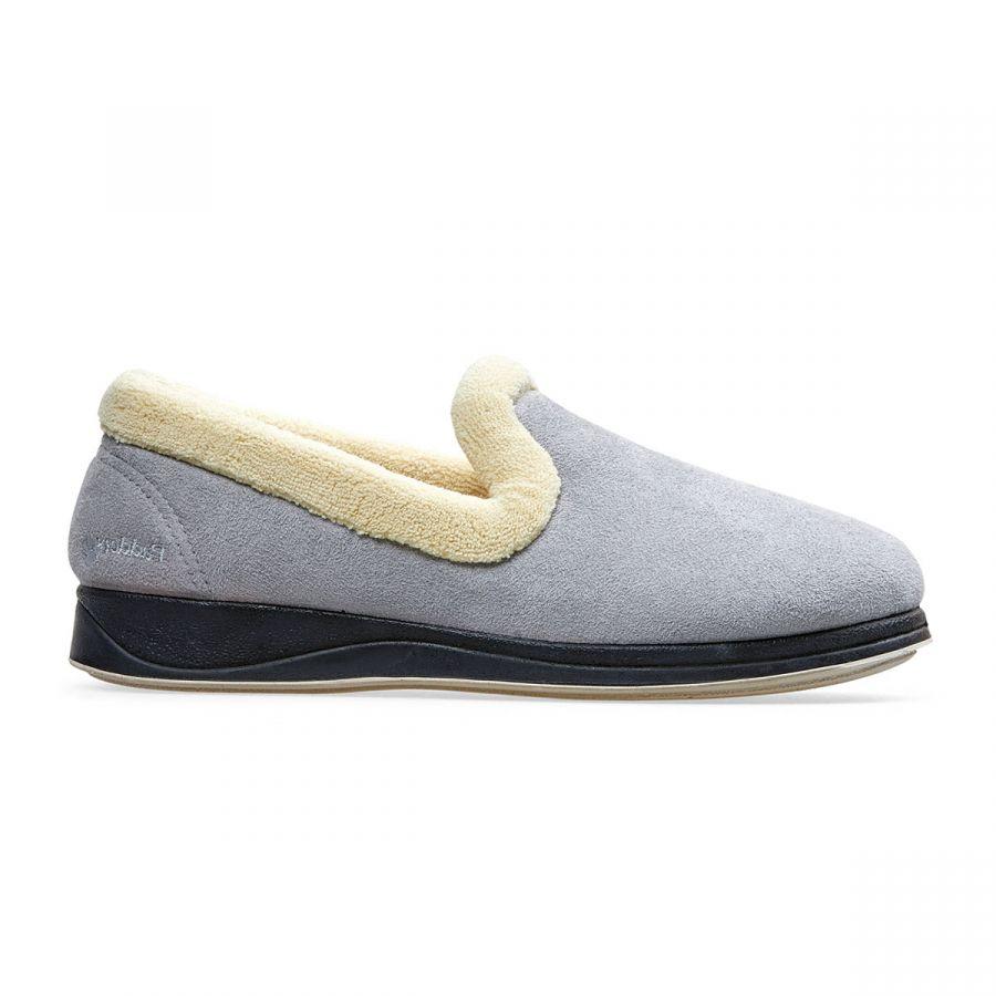 Padders Repose Slippers - Grey