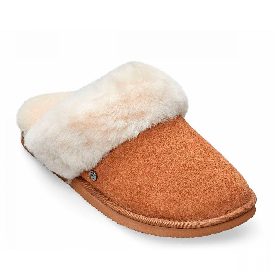 Padders Cosy Slippers - Camel