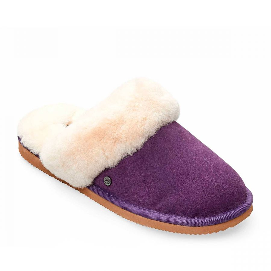 Padders Cosy Slippers - Purple