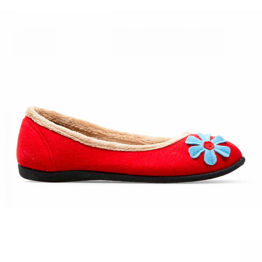 Padders Happy Slippers - Red
