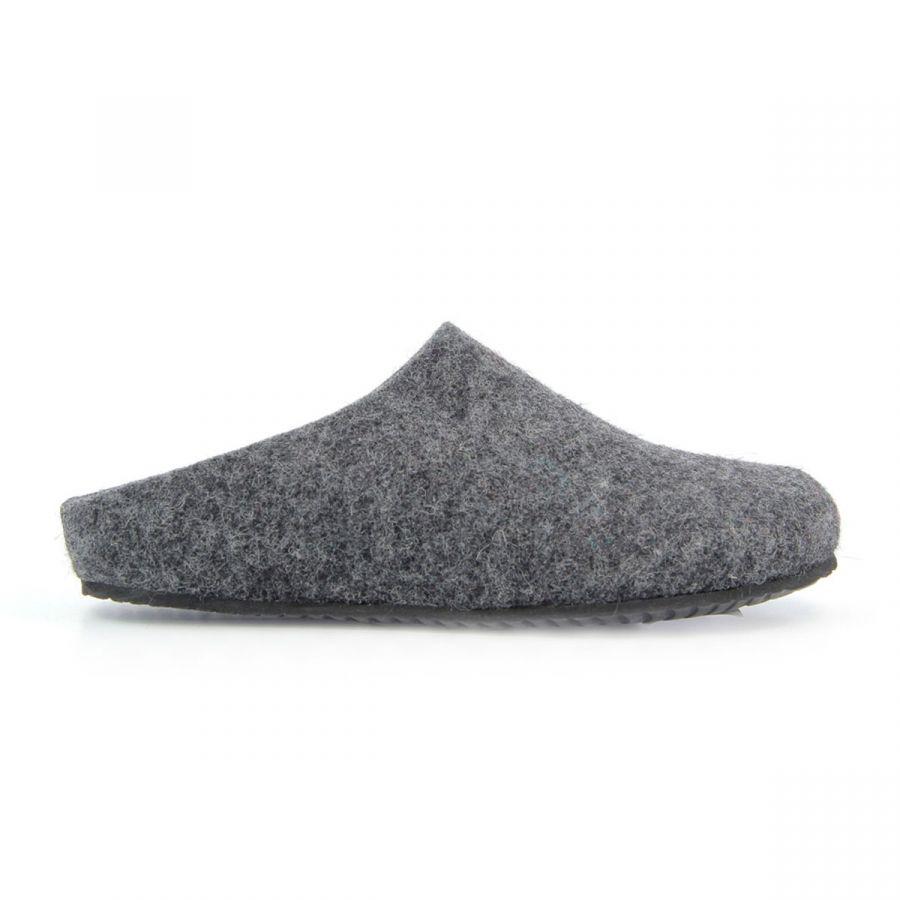 BioNatura Oslo Slippers - Anthracite