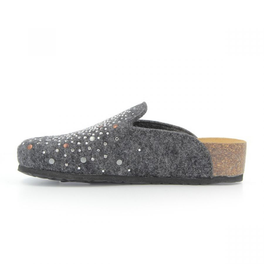 BioNatura Luce Slippers - Anthracite