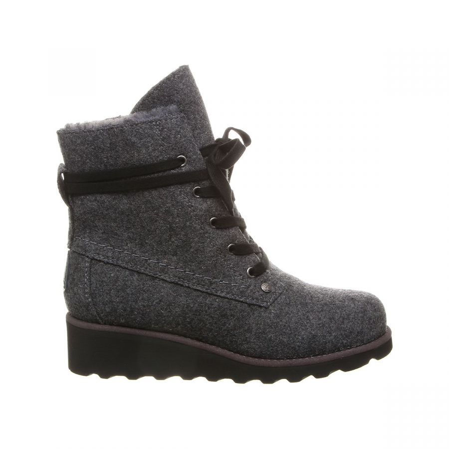 Bearpaw Krista (2025W) - Grey Wool